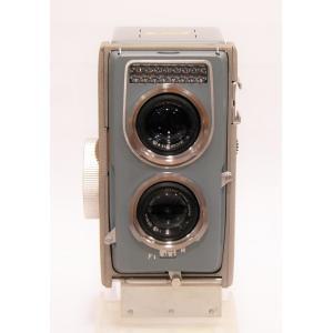 【中古】 RICOH(理研光学工業)RICOHMATIC 44[フイルム二眼レフカメラ]