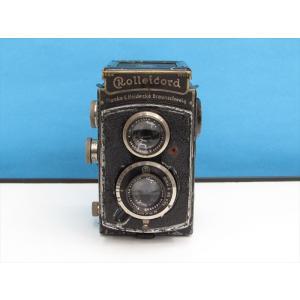 【クラシック】 Rollei ローライコードI型(トリオター7.5cmF3.8レンズモデル)[フイルム二眼レフカメラ]