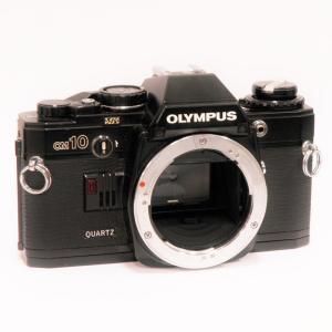 【ジャンク品】 OLYMPUS OM10 ブラック ボディ[マニュアルフォーカスフイルム一眼レフカメラ]