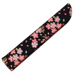 女性用扇子袋6.5寸用/化繊金襴 和桜|itotsune