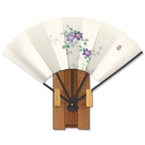 飾り京扇子★都の四季6/鉄線 itotsune