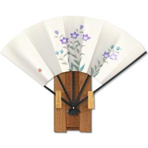 飾り京扇子★都の四季9/桔梗 itotsune