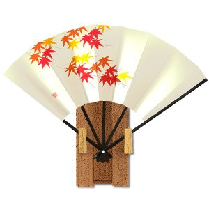 飾り京扇子★都の四季13/紅葉 itotsune