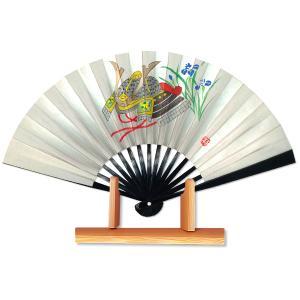 節句扇子★兜/飾り茶扇台付きセット|itotsune
