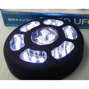 21LED UFOライト フック 磁石付|itoturi