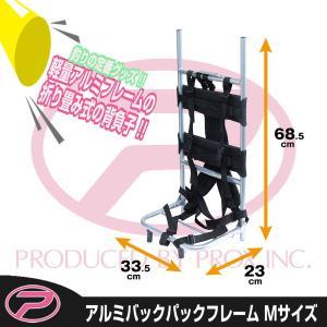 アルミバックパックフレーム 背負子 Mサイズ プロックス PROX(PX8533M)|itoturi