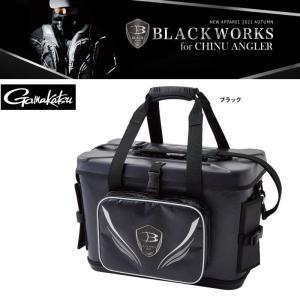 2021年秋冬新製品がまかつ 限定品ブラックワークスクールトーナメントバッグ 25L GM2546 itoturi