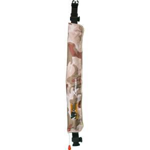 ラムセス Lamses 大人用 自動膨張式救命衣 ウエストタイプ フローティングベスト ライフジャケット カモ LJ-1043|itoturi