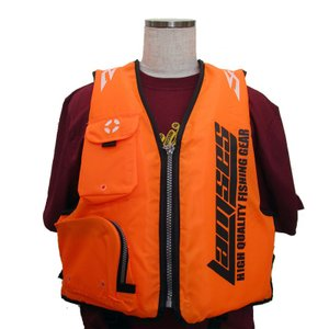 パターナルフローティングベスト EJ-1591 オレンジ ライフジャケット救命胴衣の商品画像|ナビ