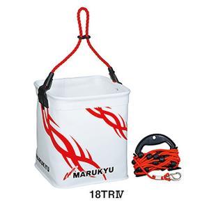 マルキュー パワー水くみバケツ18TRIV 6L|itoturi