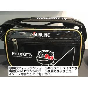 サンライン ×サンリオ コラボ ハローキティ キティちゃん  スポーツバッグ(Hello Kitty)SKT-1864 ブラック|itoturi