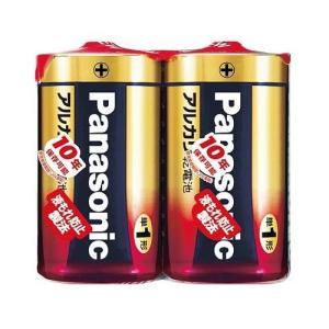 パナソニック アルカリ乾電池 単1形 2本パック LR20XJ/2SE|itoturi