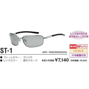 視泉堂 調光 SATELLITE ST-1 偏光サングラス itoturi