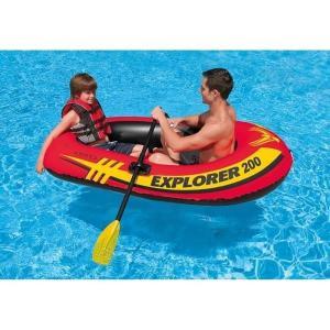 セール価格 INTEX インテックス ボート エクスプローラー 200 SET 185×94×41cm 58331 オール・ポンプ付属|itoturi