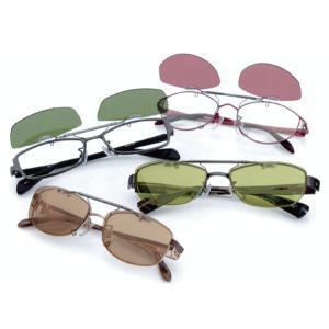 なんと厚0.8mmでありながら偏光度99%のTAC素材レンズを採用! メガネにワンタッチで取り付けら...