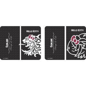 サンリオ×サンラインコラボ ハローキティ Hello Kitty  手帳型スマホケース/ くろつるばみ色 (貼付タイプ)スマートフォンケース  5月発売予定|itoturi