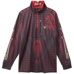 2018年 サンライン インセクトシールド IS PRO DRYシャツ(虫よけ加工) SUW-5564CW(長袖)チャコールグレー S〜LL  |itoturi