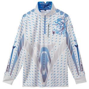 2018年 サンライン インセクトシールド IS PRO DRYシャツ(虫よけ加工) SUW-5564CW(長袖)ライトグレー3L〜4L 4月発売予定 itoturi