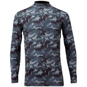 ハヤブサ(HAYABUSA)FREE KNOT HYOON レイヤードアンダーシャツ Y1625 グレーカモ  フリーノット ヒョウオンレイヤードアンダーシャツ|itoturi