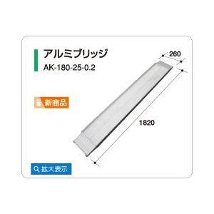 アルミス アルミブリッジAK-180-25-0.2(2本組)|itounouki