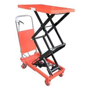 油圧式テーブル運搬車 150kg KT-150HL|itounouki