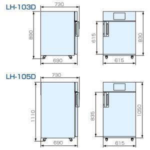 【山本製作所】電気乾燥庫 LH105E 単相200V|itounouki|02