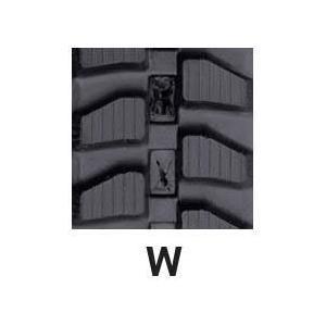 運搬車・作業機用ゴムクローラ 150×72×28(150*72*28) パターン【W】≪送料無料!代引き不可≫ICH0704N ピッチ72|itounouki|02