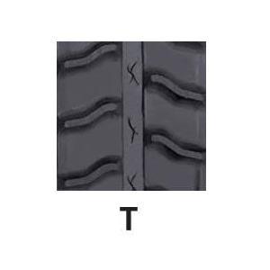 運搬車・作業機用ゴムクローラ 160×60×32(160*60*32) パターン【T】お得な2本セット!!≪送料無料!代引き不可≫ICH1632SKX2 ピッチ60 itounouki 02