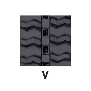 運搬車・作業機用ゴムクローラ 180×60×38(180*60*38) パターン【V】≪送料無料!代引き不可≫ICH20039SK ピッチ60|itounouki|02