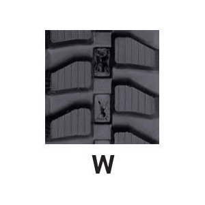 運搬車・作業機用ゴムクローラ 180×72×39(180*72*39) パターン【W】≪送料無料!代引き不可≫ICH2017SK ピッチ72|itounouki|02