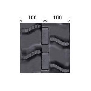 ハーベスタ用ゴムクローラ 200×84×30(200*84*30) パターン【V】≪送料無料!代引き不可≫ICH2030N8ピッチ 84 itounouki 02