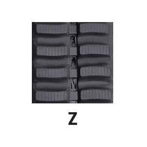 運搬車・作業機用ゴムクローラ 280×72×51(280*72*51) パターン【Z】≪送料無料!代引き不可≫ICH2075SK ピッチ72|itounouki|02