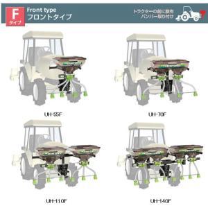 肥料散布機UH-110F型式を確かめて下さい。|itounouki