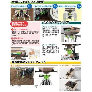 肥料散布機UH-110F-G3イセキ型式を確かめて下さい。|itounouki|02