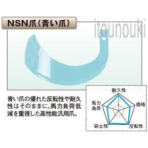 ヤンマー純正 サイドロータリー用 NSN爪(新青爪) 36本セット [1TU811−06340] 適合をお確かめ下さい itounouki