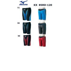 ミズノ KX(ケイエックス)85RD-120 メンズ ハーフスパッツ 競泳水着 FINA承認 SSサイズ Sサイズ メール便対応|itspo