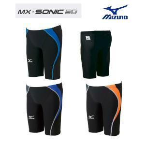 ミズノ MX SONIC 30 85RD-310 メンズ ハーフスパッツ 競泳水着 FINA承認 Sサイズ Mサイズ メール便対応|itspo