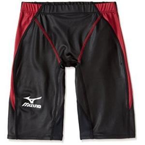 ミズノ マイティライン N2JB4020 メンズ ハーフスパッツ 競泳水着 FINA承認 Oサイズ メール便対応|itspo