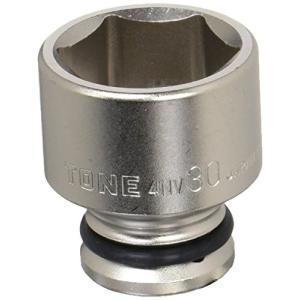 トネ(TONE) インパクト用ソケット HP4NV-30 差込角12.7mm(1/2%ダブルクォーテ%) 二面幅30mm|itsudemokaden