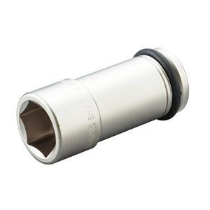 トネ(TONE) インパクト用ロングソケット HP6NV-21L 差込角19.0mm(3/4%ダブルクォーテ%) 二面幅21mm|itsudemokaden