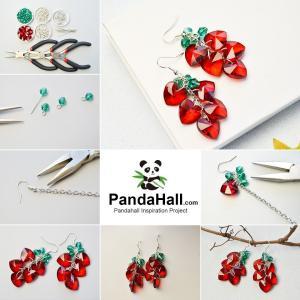 PandaHall Elite 約50個/セット 10.5x17mm 304 ステンレス イヤリング フープ ピアス フック 金具 パーツ|itsudemokaden