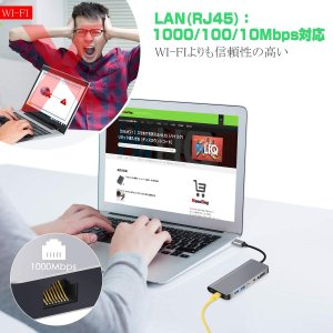 USB C HDMI VGA変換 USB C ハブ 7in1 Samsung Dexモード USB ...