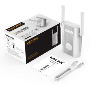 Wavlink WiFi中継器 AC1200中継器 無線LAN中継機 866 + 300Mbps ハ...