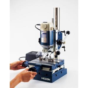 ホーザン(HOZAN) 卓上フライス盤 卓上型小型フライス盤兼ボール盤 金属、プラスチック、木材のフライス、穴開け加工が可能 K-280|itsudemokaden