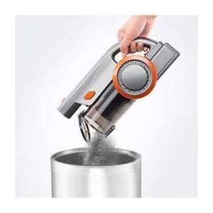 掃除機コードレス 掃除機充電式 スティッククリーナー オレンジ ハンディクリーナー サイクロンクリー...