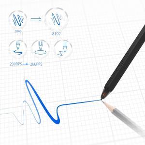 XP-PEN ペンタブレット 消しゴム機能搭載 P06スタイラスペン 10インチペンタブ Deco ...