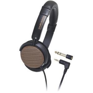 audio-technica オープン型 オンイヤー ヘッドホン 楽器モニター用 オレンジ ATH-...