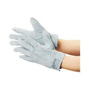 TRUSCO(トラスコ) 牛床革手袋 国産牛床革製 LLサイズ TYK-ST-LL