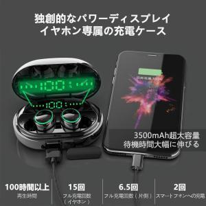 Bluetooth イヤホン タッチ式 ワイヤレスイヤホン Yinyoo C5S IPX8完全防水仕様 ノイズキャンセリング 技適認証済 マ itsudemokaden