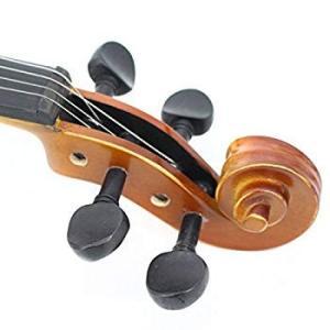 TLY学生用アコースティックプロフェッショナル手作りバイオリン木製の衣装初心者パック (4/4フルサイズ)|itsudemokaden